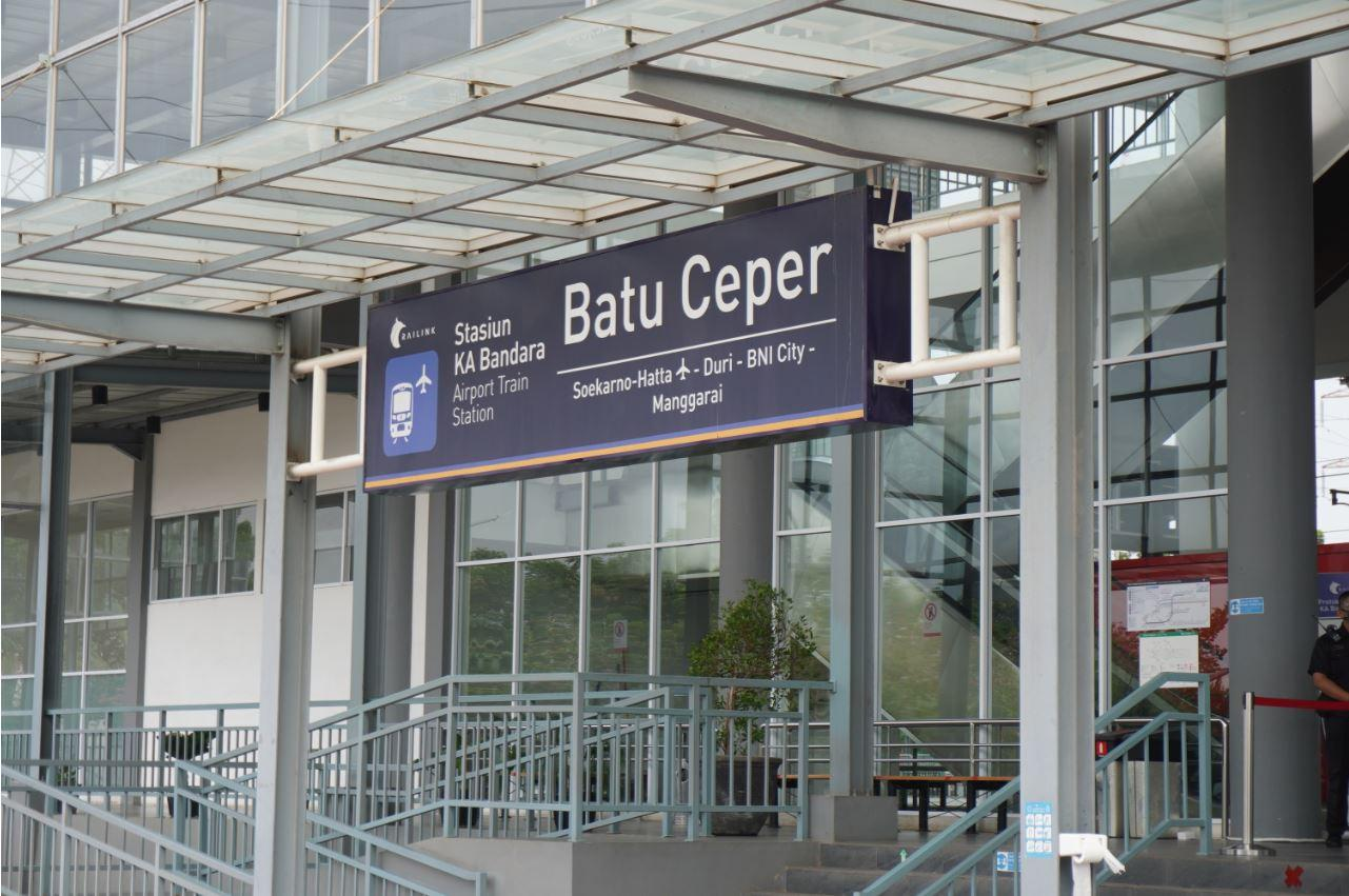 Batu Ceper Airport Train Station