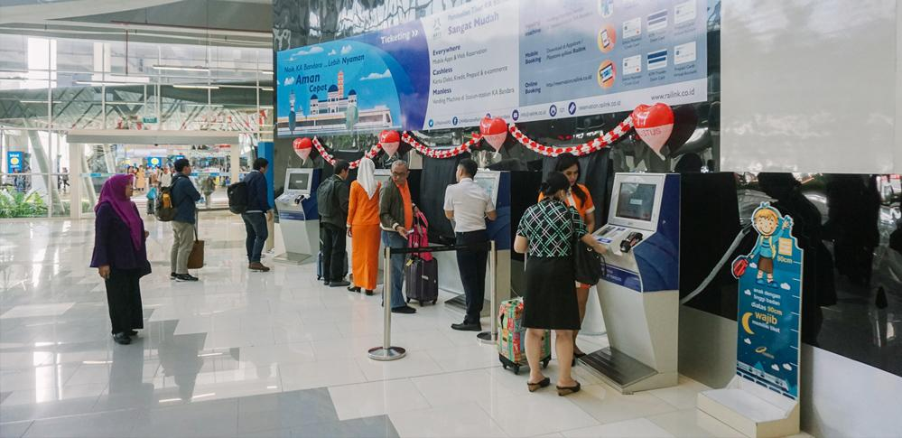 Enjoy Cashless Transactions at Kualanamu Airport Train Starting August 1, 2018