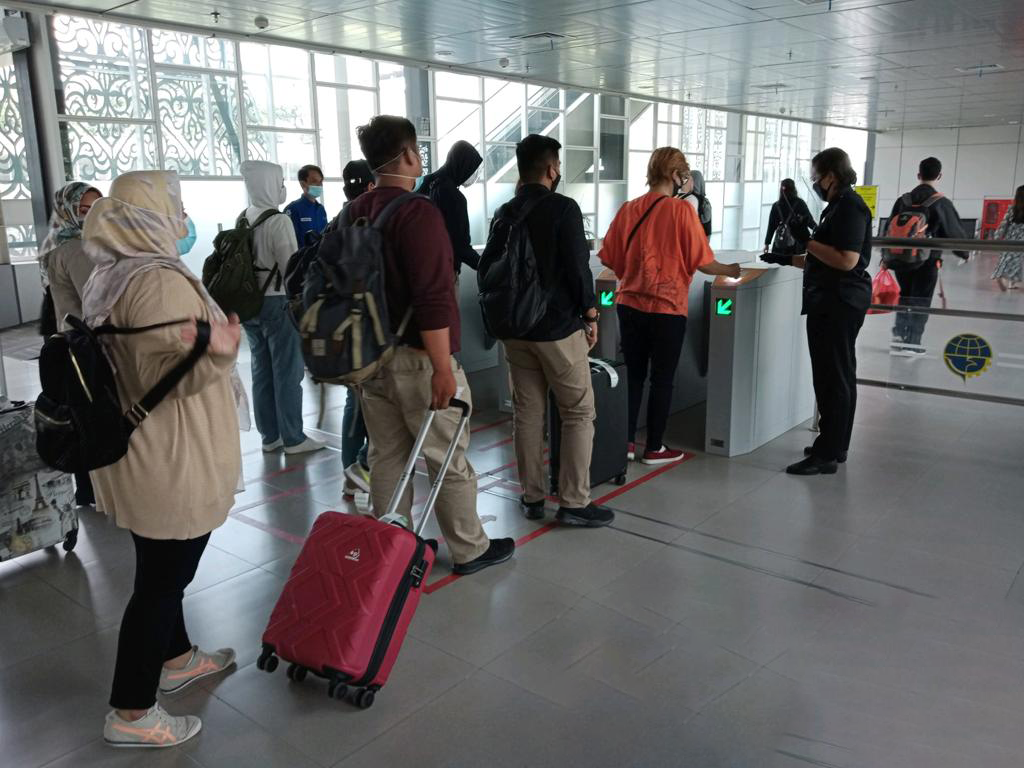 LONG HOLIDAY, THE OCCUPANCY OF RAILINK AIRPORT PASSENGER HAS INCREASED